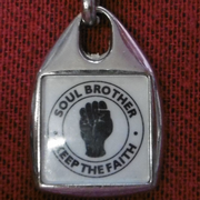 Soul Brother Keep The Faith Keyring